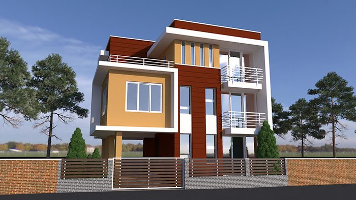 Home Design Residential House Design In Nepal Green