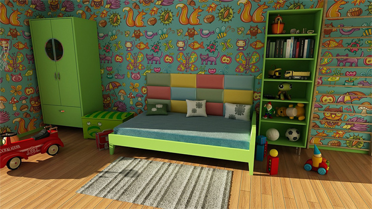 7 Awesome Kids Bedroom Ideas On A Budget